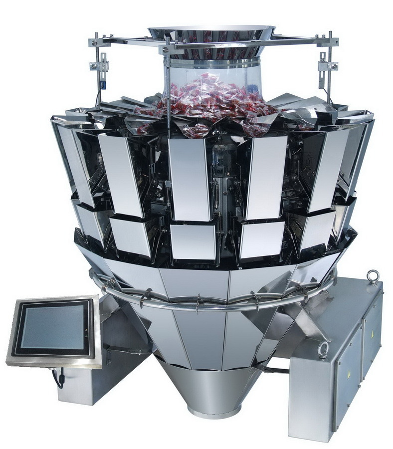 14 Heads Multi Head Weigher Weighing Machines Jy-14hst
