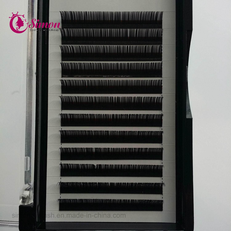 Hot Sale False Eyelashes Korea Synthetic Individual Lashes