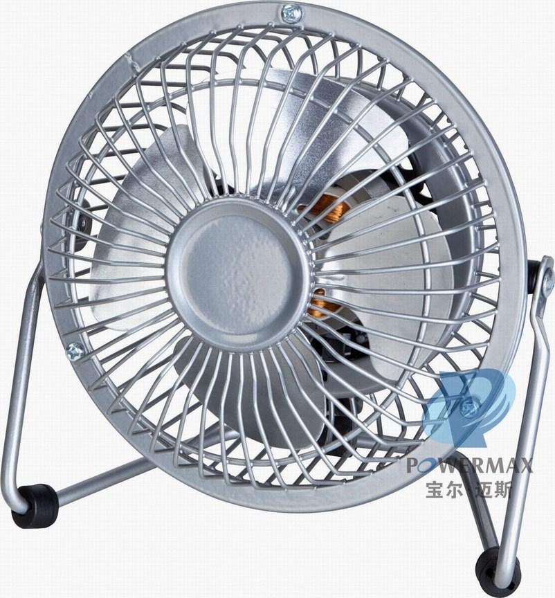 """4"""" High Velocity Fan, Mini Fan, Desk Fan Hvra-4D"""