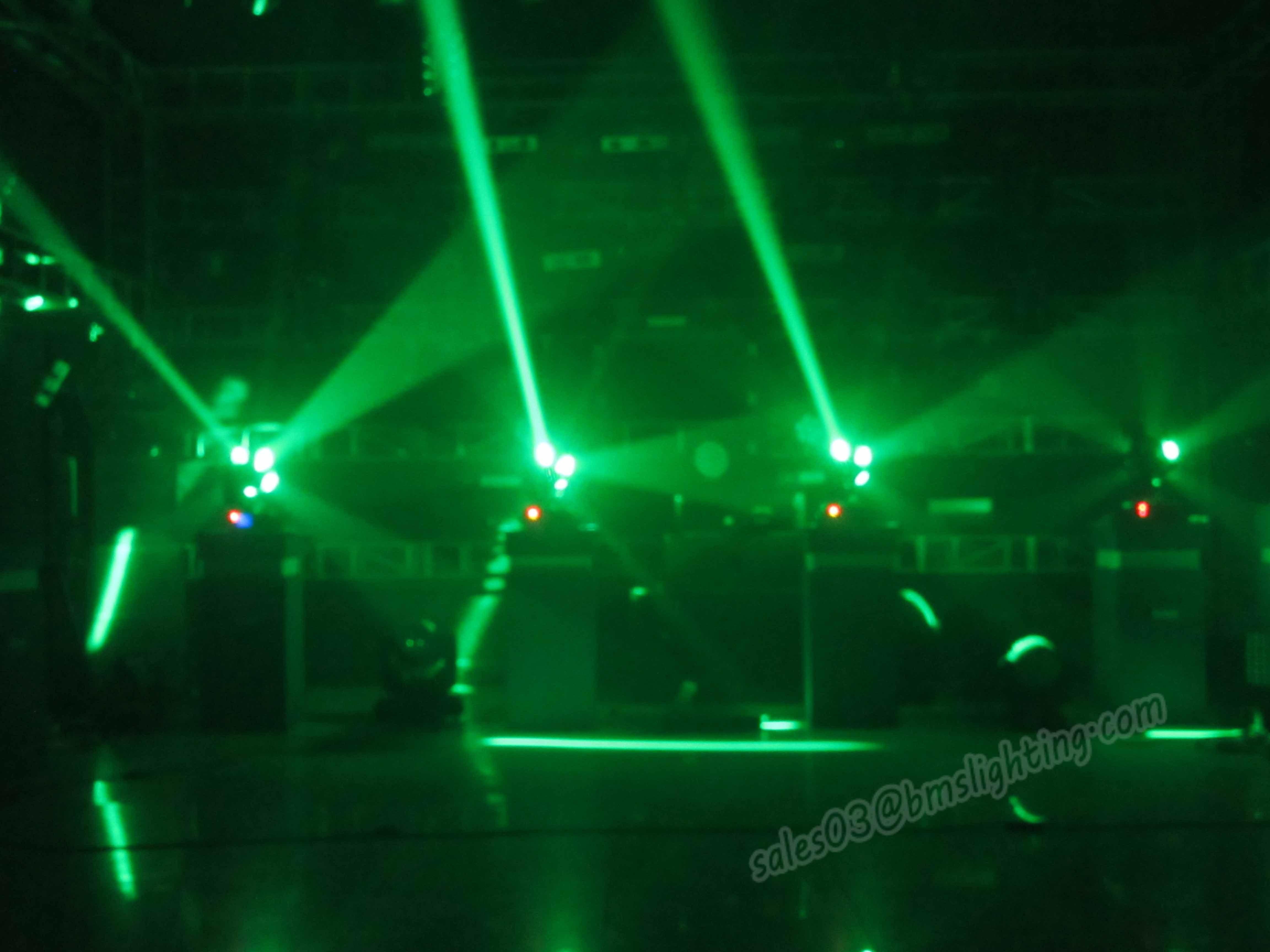 12PCS RGBW 4in1 Cosmopix Football LED Moving Head Light (BMS-8830)