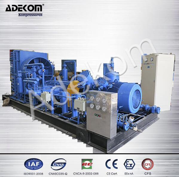 High Pressure Reciprocating Piston Nactural Gas CNG Compressor