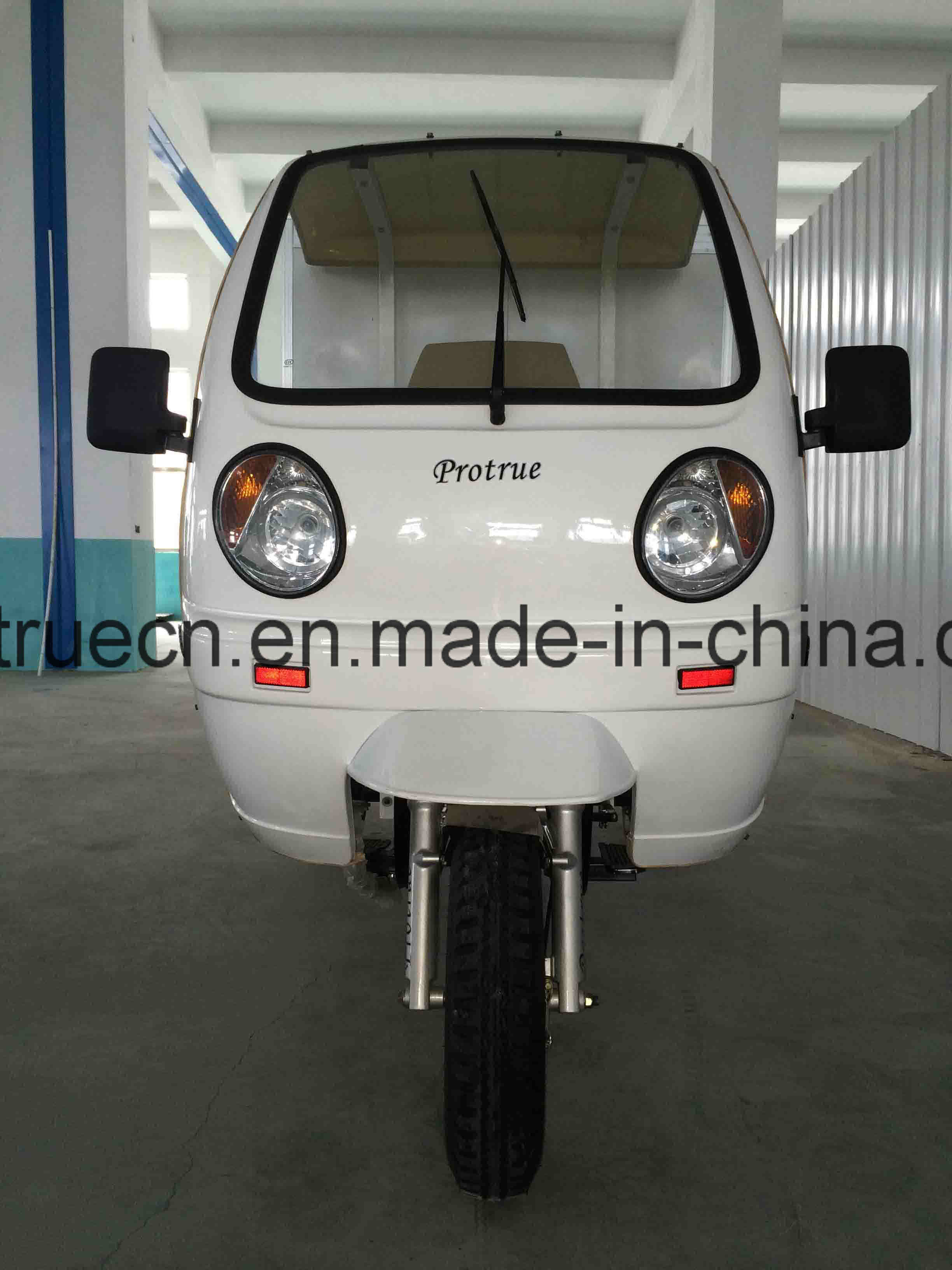 3 Wheel Tricycle with Closed Box for Insulation