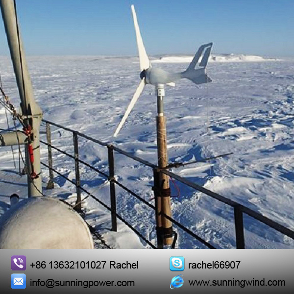 CE Approved 300W Wind Turbine Generator for Monitoring