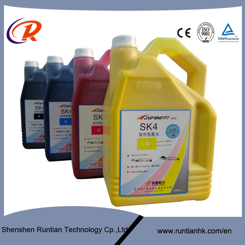 Outside Printing Original Package Infiniti Sk4 Solvent Based Ink