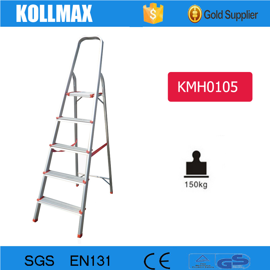 Aluminum Domestic Step Ladder with En131