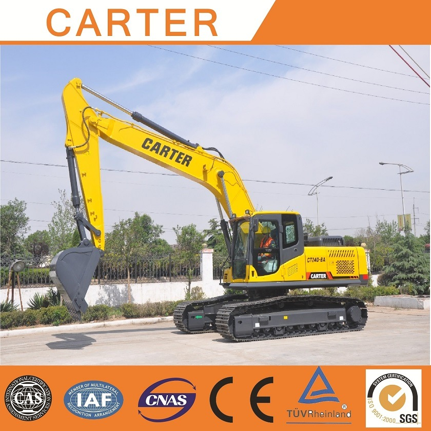 Hot Sales CT240-8c Hydraulic Crawler Backhoe Heavy Duty Excavator
