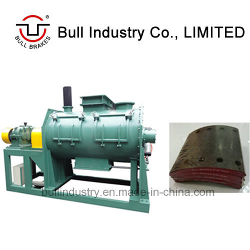 Mixing Machine for Making Brake Lining with Technology Support
