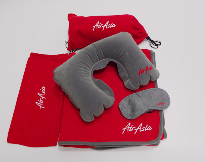 Airasia Airline Blanket Kits (SSB0152)