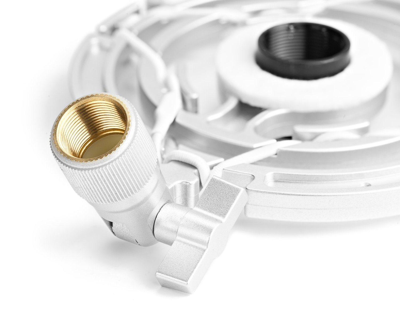 "T-2 Universal for 21mm (0.82"") Diameter Microphones - Ideal for Radio Broadcasting Studio / Voice-Over / Sound Studio / Recording Microphone Shock Mount"