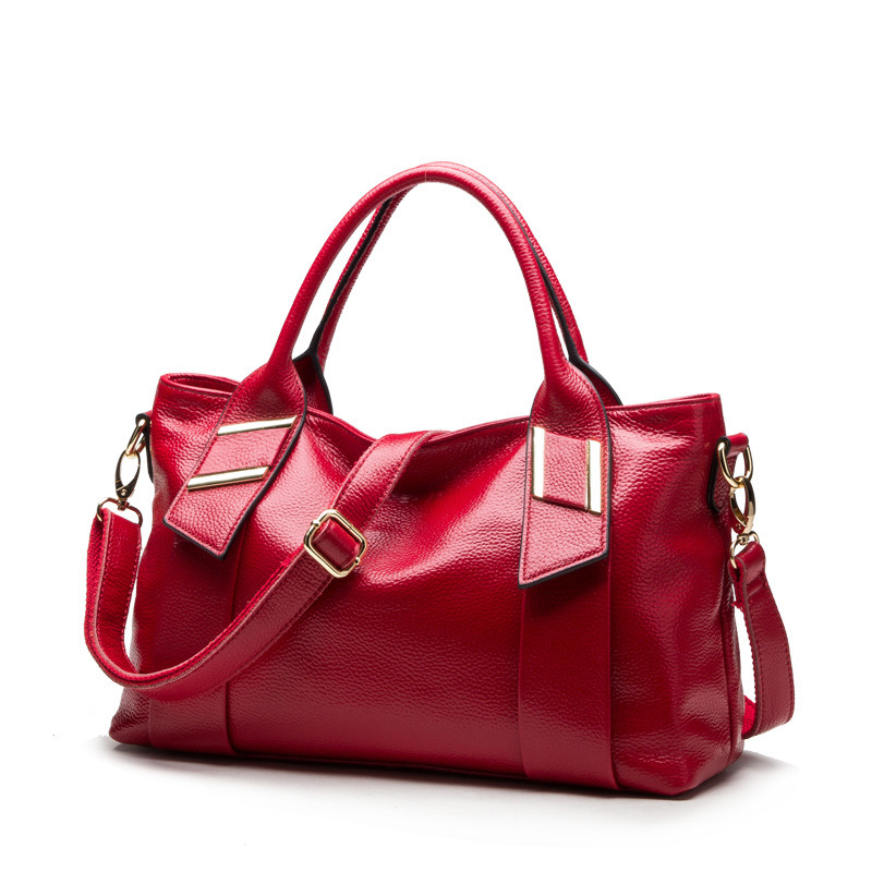 Litchi Leather Fashion Bag Ladies Designer Handbags (XP1018)