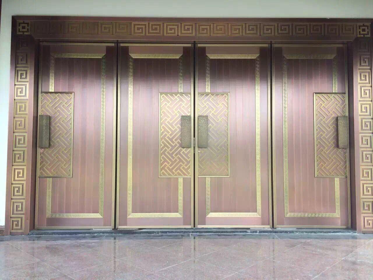 Luxurious Inexpensive Copper Door