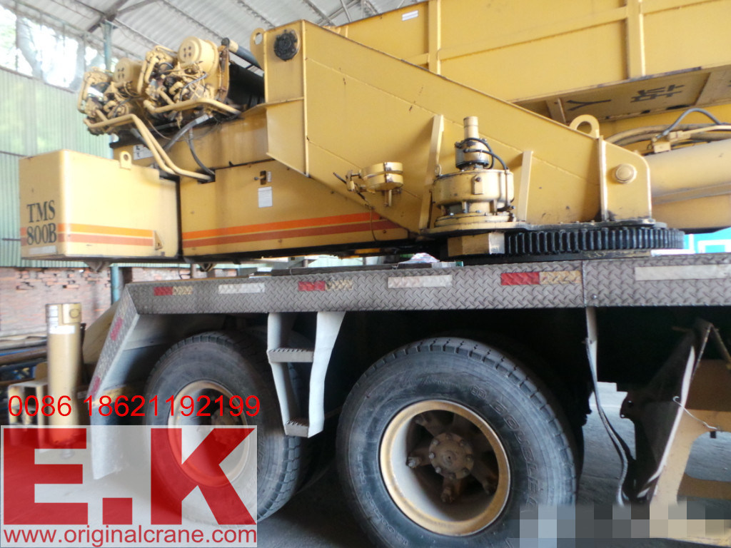 80ton American Grove Mobile Truck Crane (TMS800B)