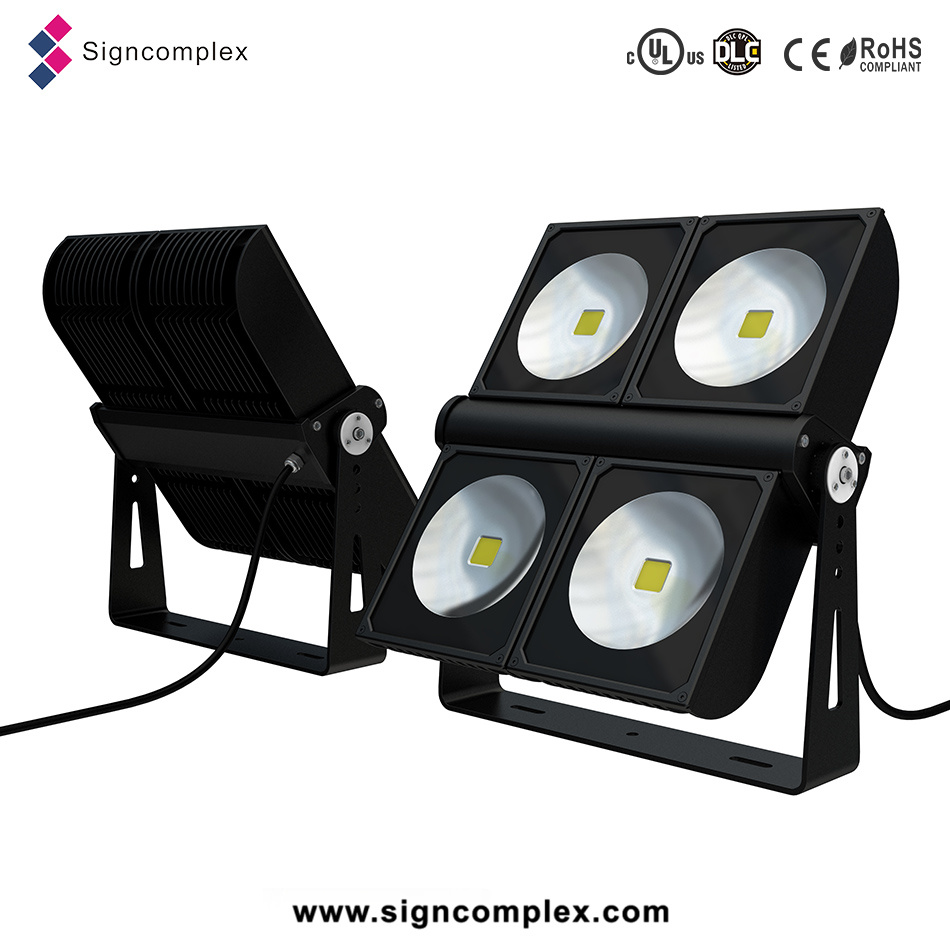 90W 150W 180W 200W 300W 350W IP65 Bridgelux High Power COB LED Floodlight