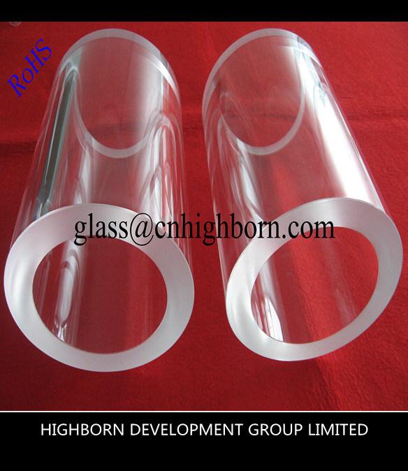 Competitive High Purity Transparent Fused Quartz Tube