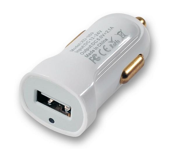 Portable Single Port Mini USB Car Charger
