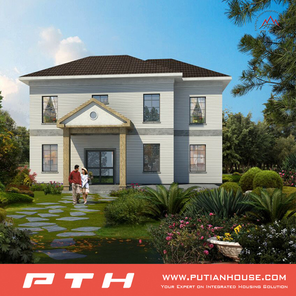 2017 Easy Assemble Prefabricated Villa House with High Quality