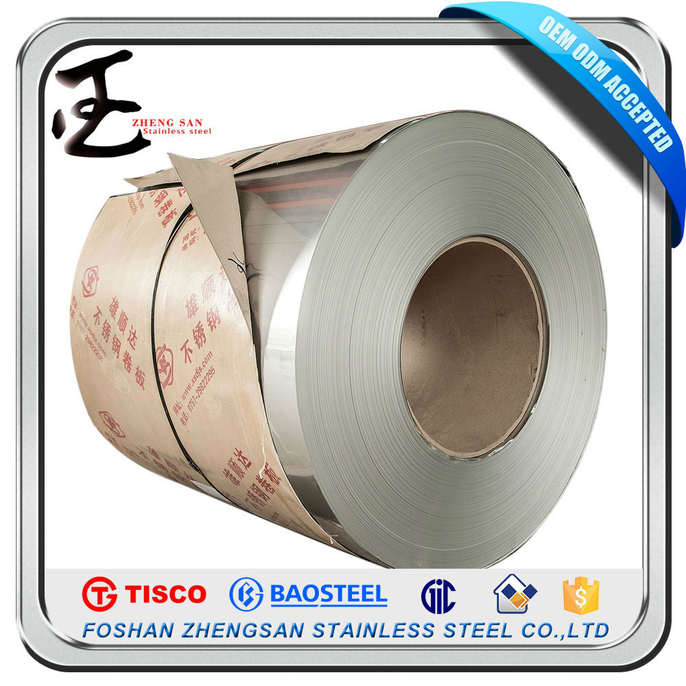 201 304 Rerolling Stainless Steel Coil