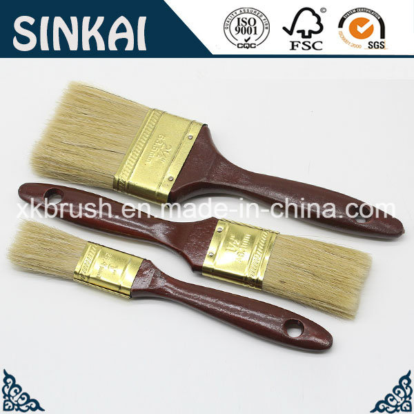 Coffee Color Handle Brush Painting with Nice Quality
