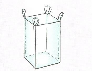 PP Woven / Antistatic / Jumbo/ Baffle Big Bag (U or 4 Panels)