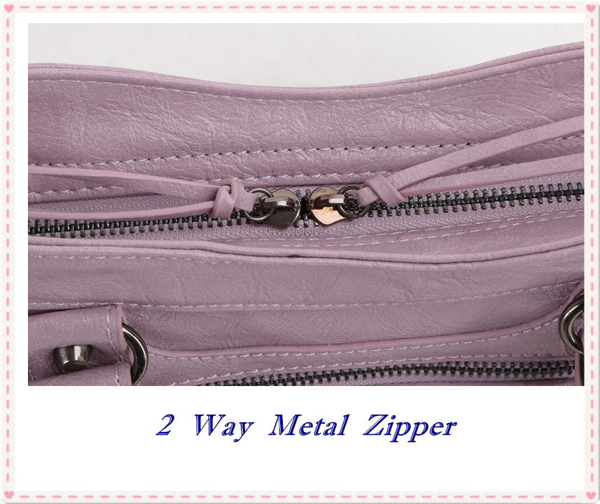 GB9023 Fashion Bag Handbags Lady Bag Famous Design Rivet Tassel