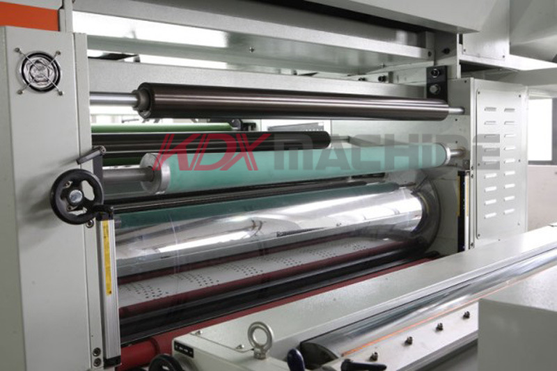 High Speed Thermal Film Laminator with Hot Knife (KMY-1220D)