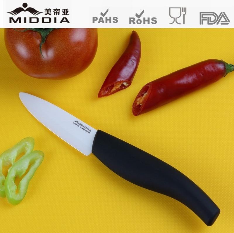"3"" Ceramic Paring Knife, Dinner Knife, Cutlery"