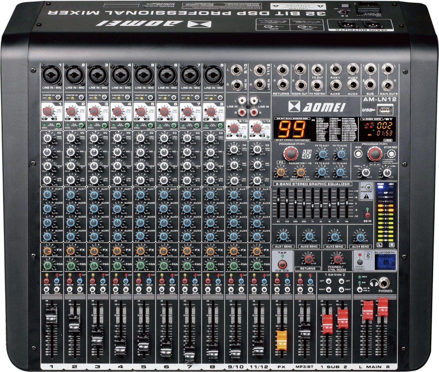 Special New Design Bigger Mixer Ln Series Power Amplifier