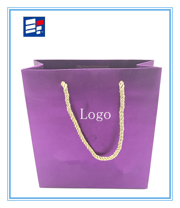 Comstom Fashion Shopping Bag with Corrugated Paper