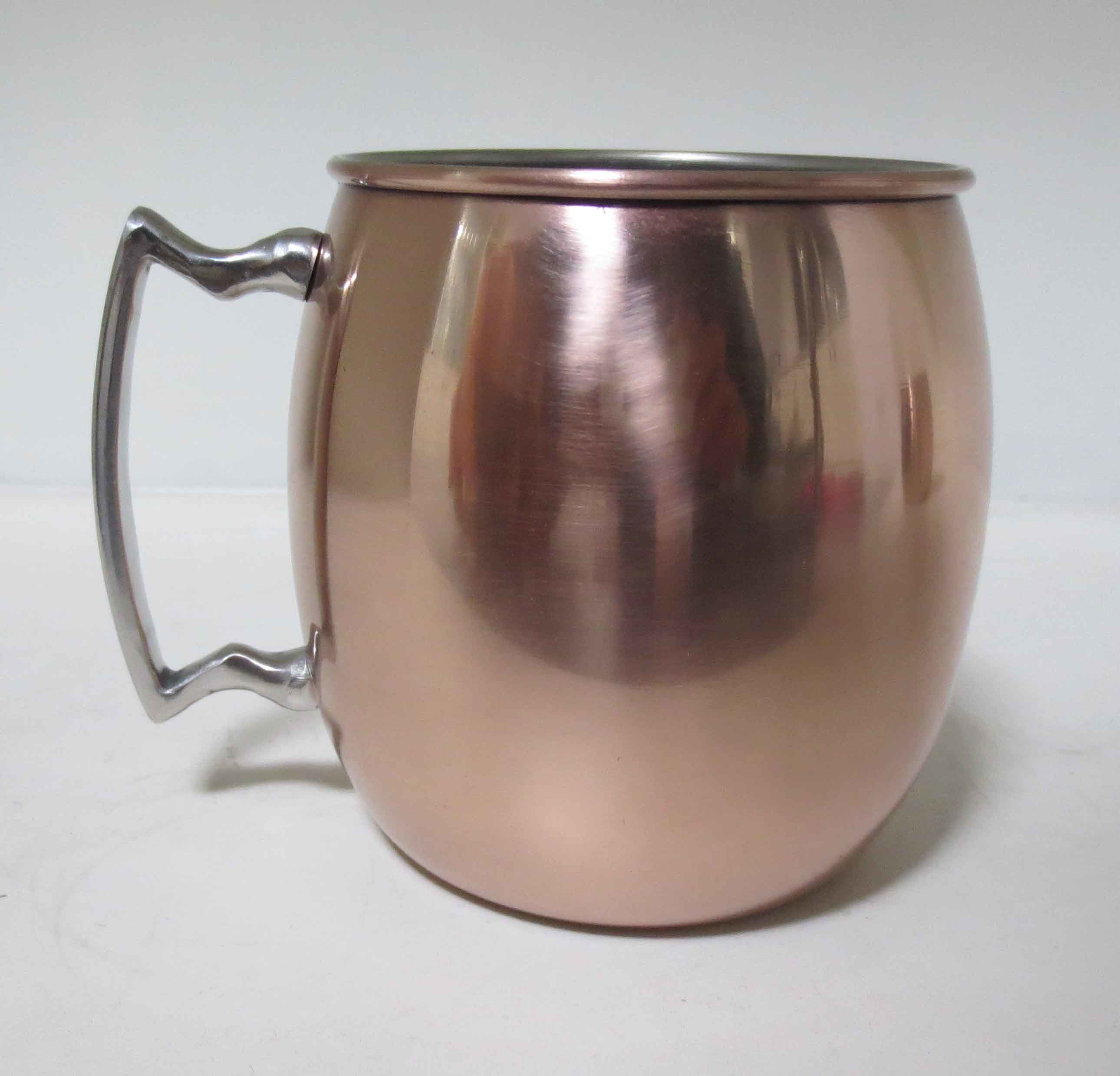 Stainless Steel Moscow Mule Copper Mug