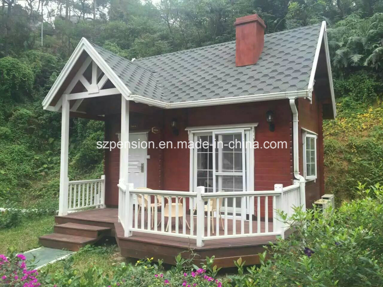 Low Profit High Quality Good Holiday with Mobile Prefabricated/Prefab Container House/Villa