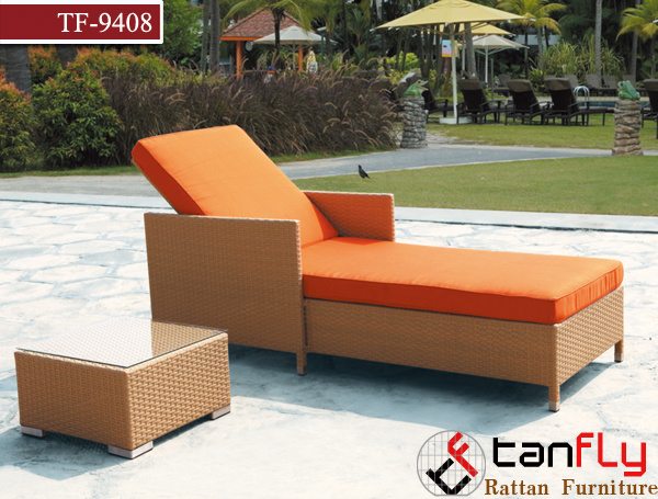 Weather Proof Outdoor Patio Rattan Adult Day Sofa Bed