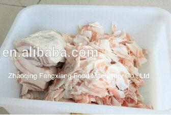 Fqp-300c Stainless Steel Frozen Meat Slicing Machine, Pork Cutting Machine