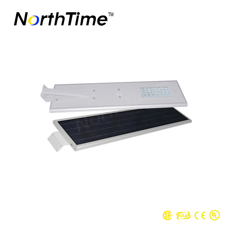 All in One 30W Solar Street Light with Ce RoHS Approved