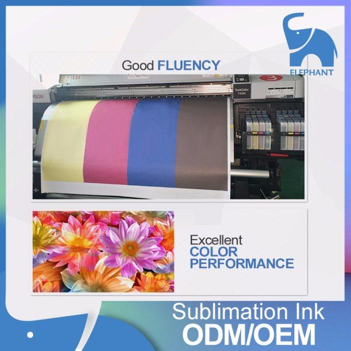1000ml Italy Kiian Hi-PRO Dye Sublimation/Transfer Ink for Mutoh