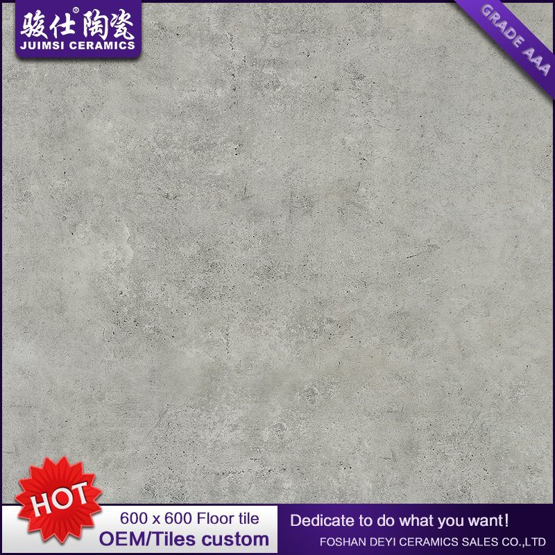 Rustic Grey Ceramic Floor Flooring Tile Bathroom/Kitchen/Living Room Price Foshan