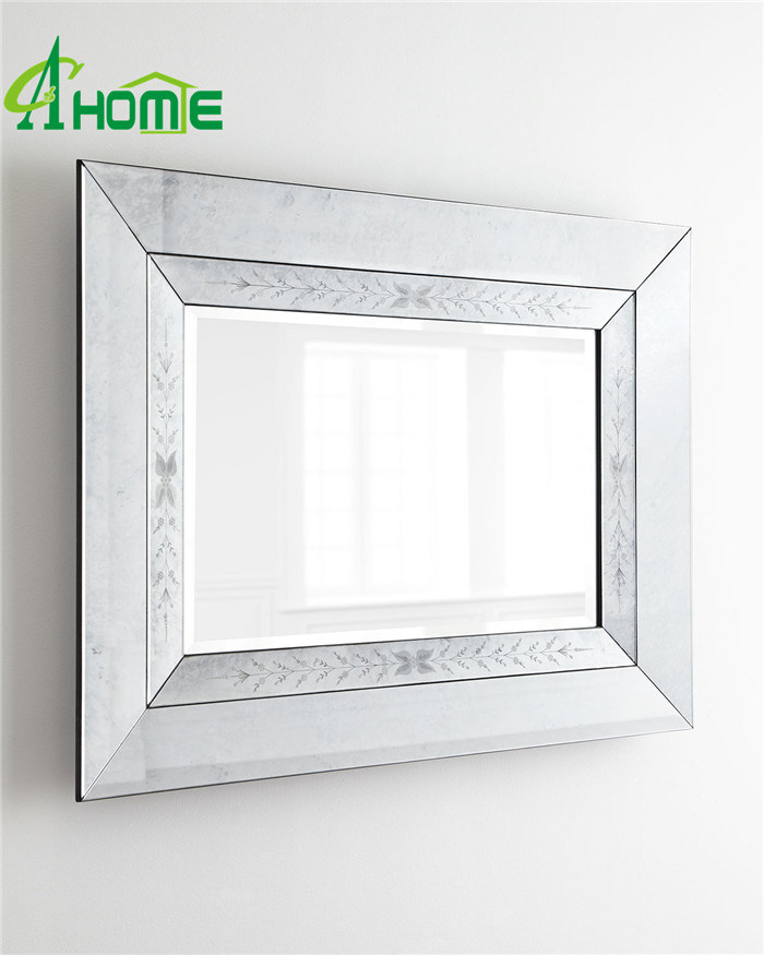 Design Home Decor Modern Rectangle Venetian Wall Mirror with Cheap Price