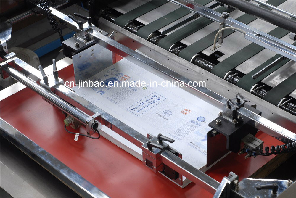 Non-Stop System Automatic Cylinder Rotary Silk Screen Printing Machine (1050X750mm)