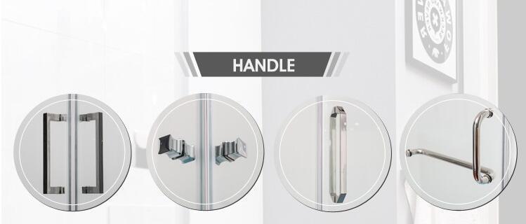 Tempered Glass Shower Enclosure (BA-L734)