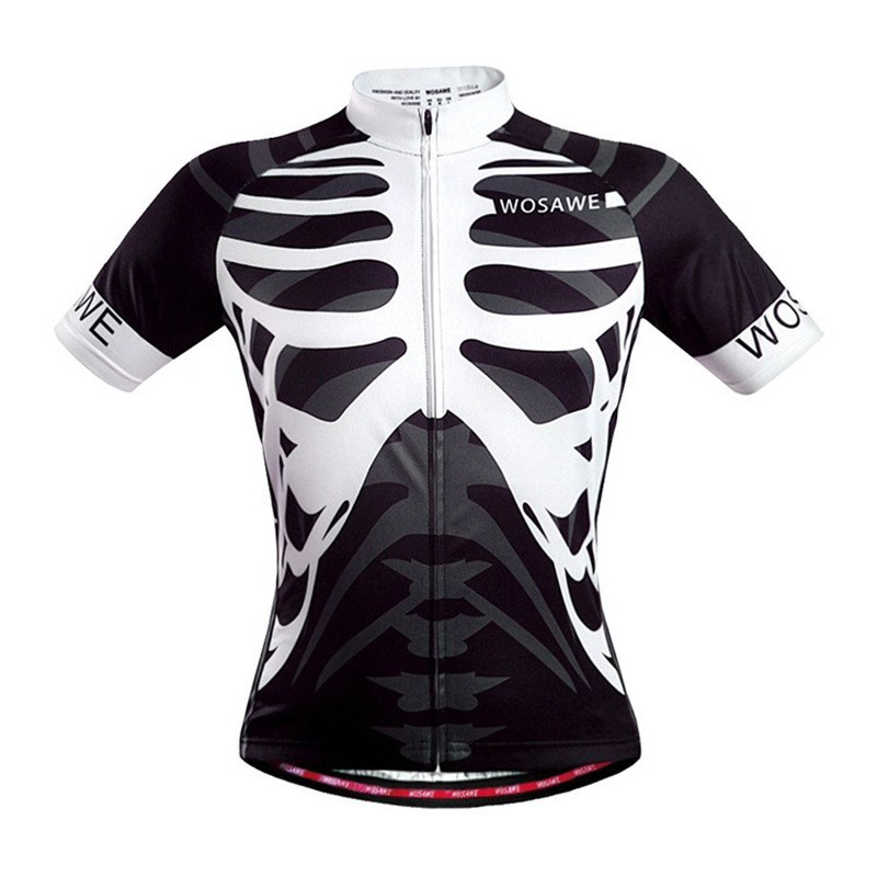 Quick Dry Breathable Funny Short Sleeve Cycling Wear for Men