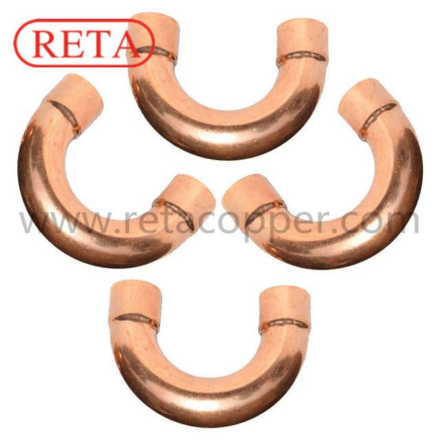 HVAC Copper Fitting U-Bend En 1254-1