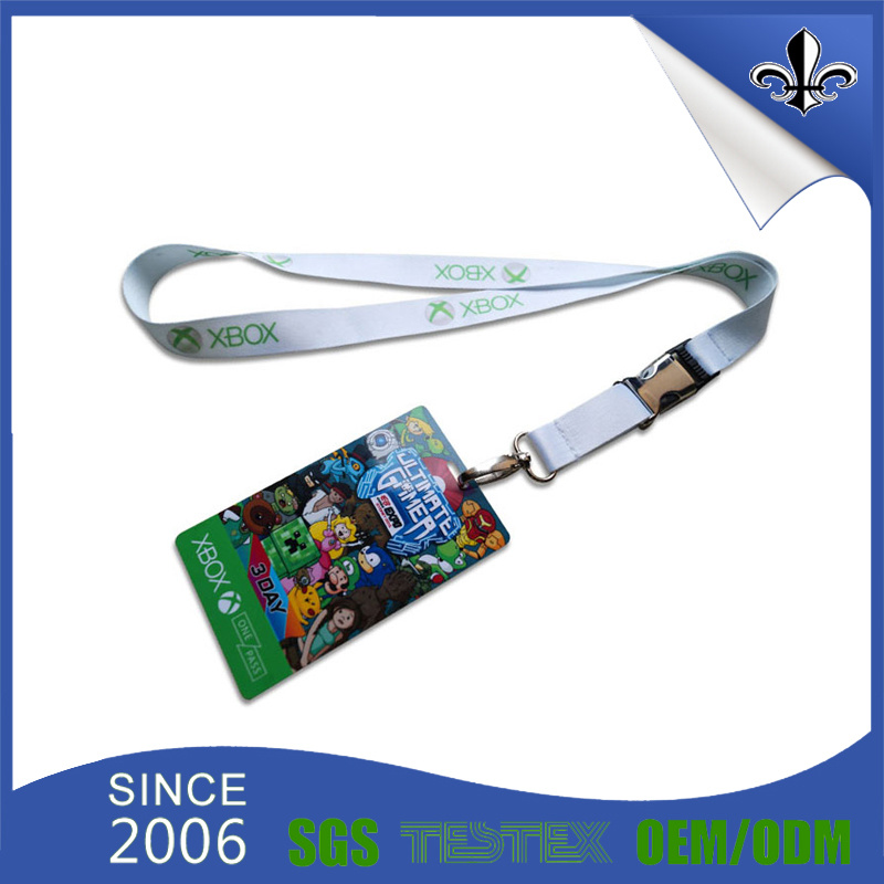 Custom Lanyards No Minimum Order Printed Polyester Lanyards