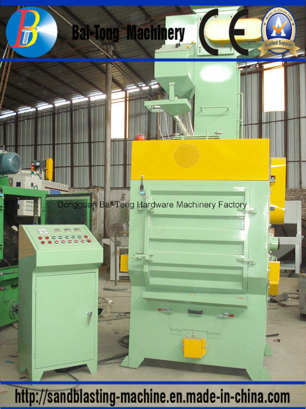 Tumblast Rubber Belt Type Shot Blast Machine for Batch Production