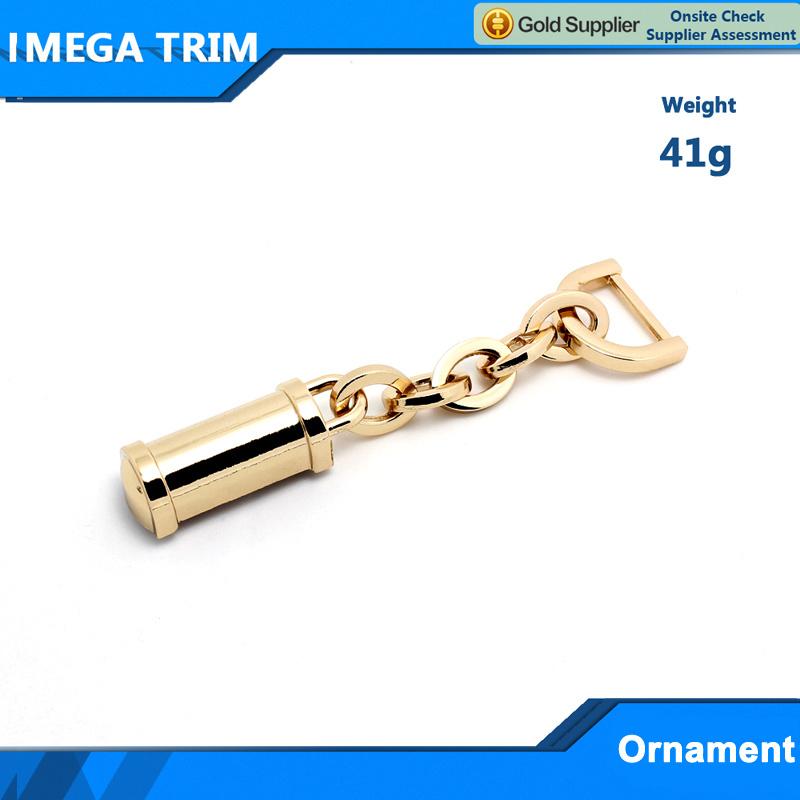No. 20206 Fashion Metal Light Gold Bag Accessory