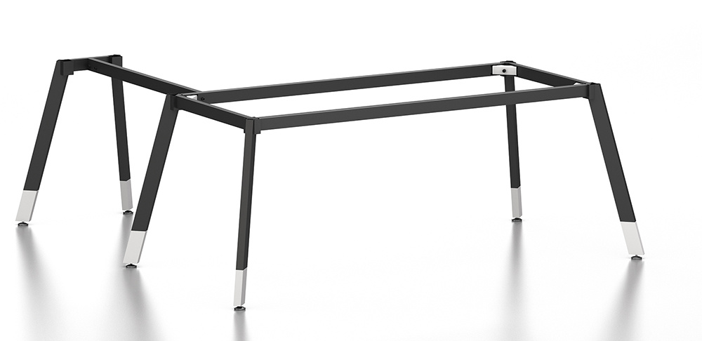 Black Customized Metal Steel Office Executive Table Frame Ht69-2