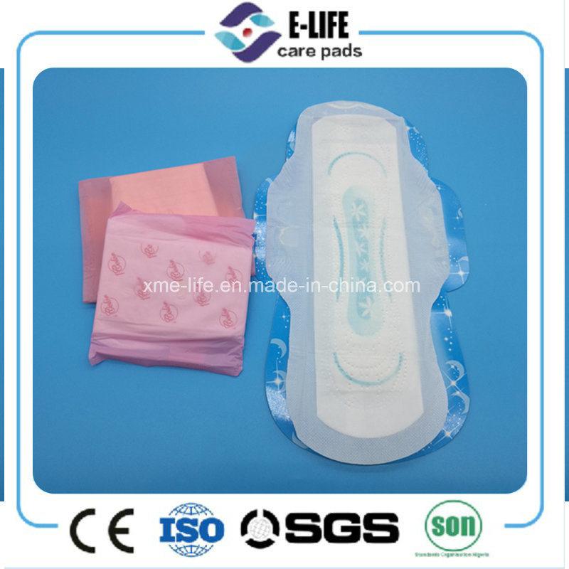 Cheap Cotton Sanitary Napkin/Mesh Sanitary Towel