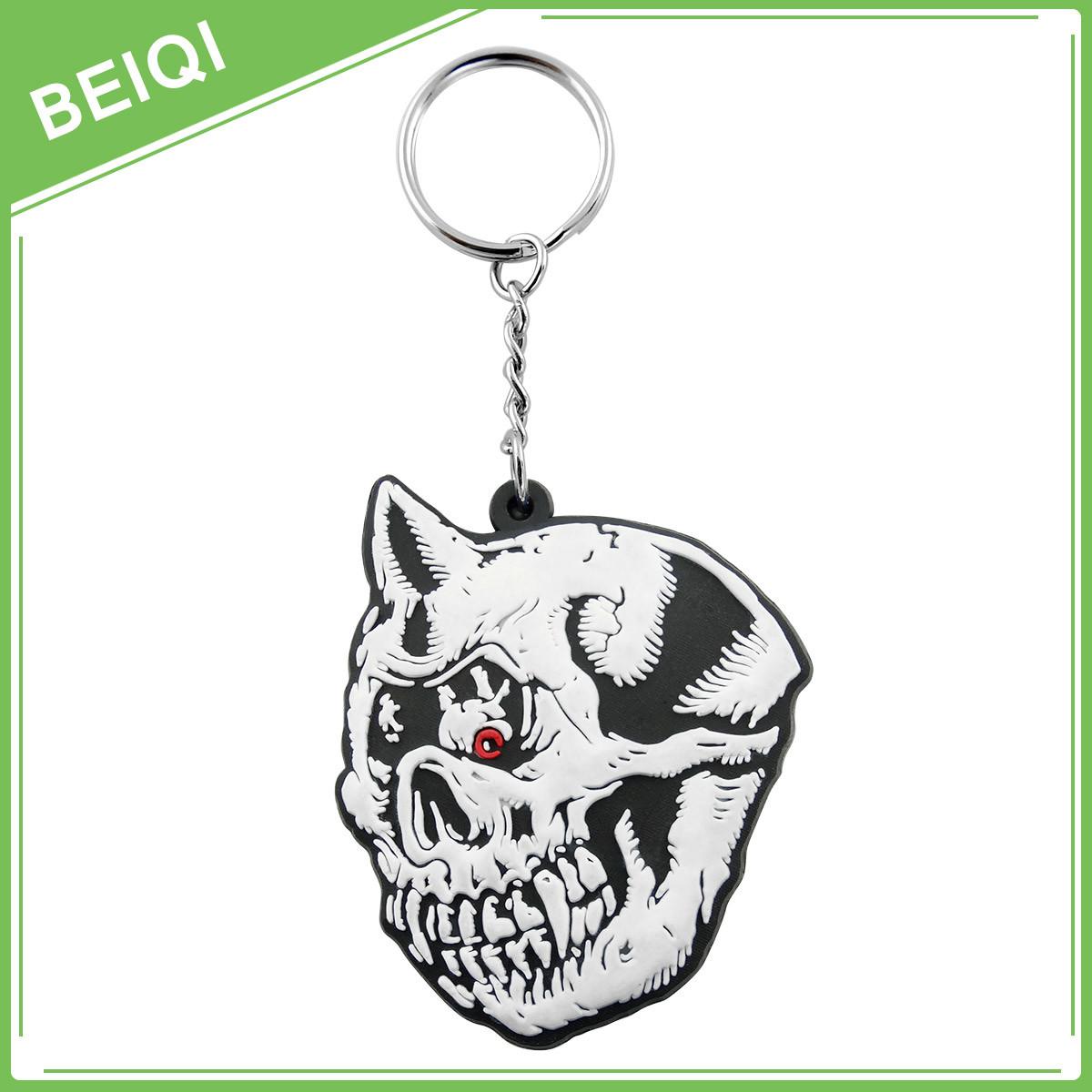 Promotional Gifts Rubber Key Chain / Custom PVC Keychain / Plastic Silicon Keychain