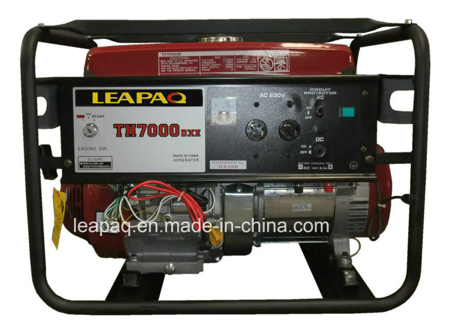 5.0 Kw Electric Start Elemax Face Portable Gasoline Generator