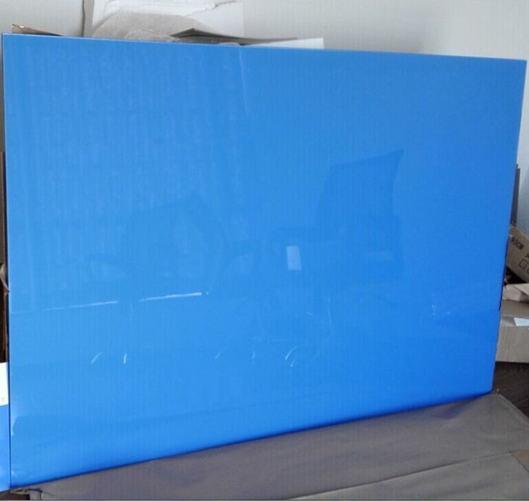 Tempered Silkscreen Printing Whiteboard with with AS/NZS2208: 1996, BS6206, En12150 Certificate