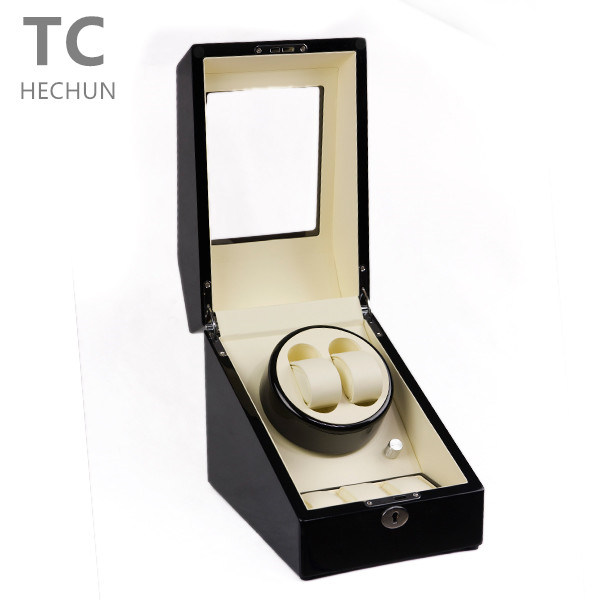 2+3 Wooden Motors Rotate Automatic Mechanical Watch Winder