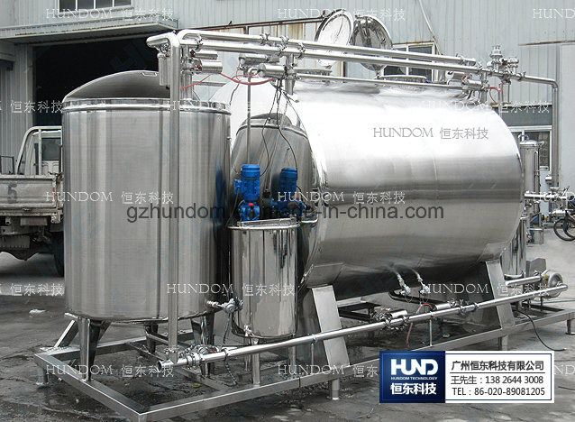 CIP Online Cleaning System Liquid Sterilizer for Food Industry
